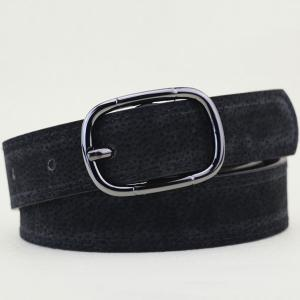 Plain Wide Pigskin Waist Belt
