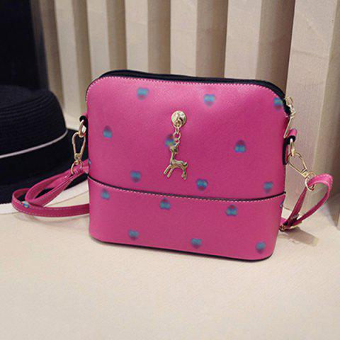 New Zipper Crossbody Bag with Pandent