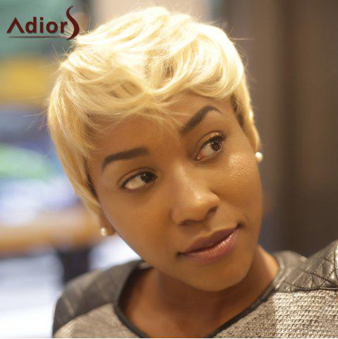 Hot Adiors Short Layered Colormixed Straight Synthetic Wig