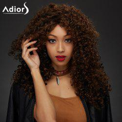 Adiors Long Afro Curly Synthetic Wig
