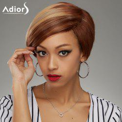 Adiors Short Side Parting Bob Straight Colormix Synthetic Wig