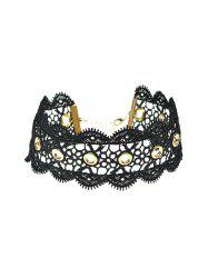 Vintage Adorn Lace Choker Necklace