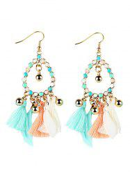Bohemian Tassel Drop Earrings -