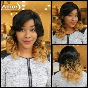 Adiors Medium Side Parting Colormix Wavy Synthetic Wig