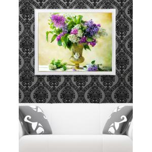 Home Decor DIY Handmade Beads Painting Flower Cross Stitch
