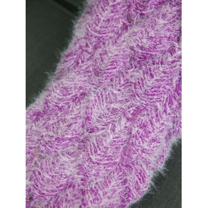 Soft Knitted Throw Bed Wrap Mermaid Blanket -