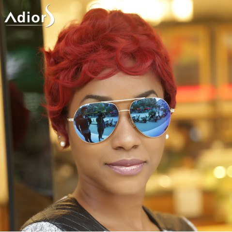 Outfits Adiors Short Curly Side Bang Synthetic Wig