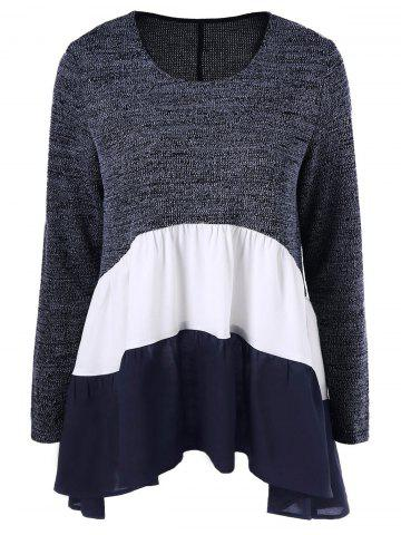 Best Color Block Tiered T-Shirt