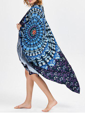 Buy Rectangle Tribal Print Vortex Beach Throw