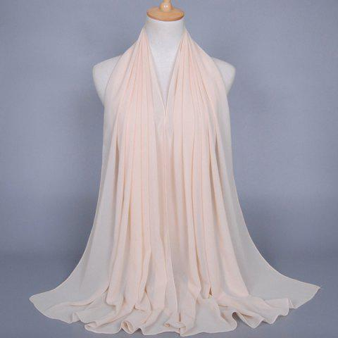 Outfits Chiffon Plain Wrap Hijab - OFF-WHITE  Mobile