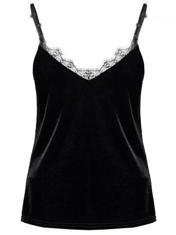 Buy Lace Insert Camisole Top