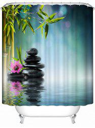 Nature Landscape Print Bathroom Shower Curtain