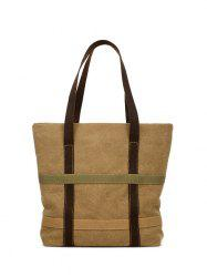 Canvas Straps Shoulder Bag