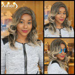 Adiors Long Colormix Side Parting Fluffy Wavy Synthetic Wig