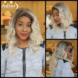 Adiors Long Colormix Side Parting Fluffy Curly Synthetic Wig