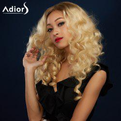 Adiors Long Colormix Side Parting Shaggy Wavy Synthetic Wig