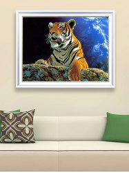 Tiger Pattern DIY Handmade Beads Painting Cross Stitch