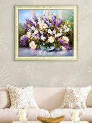 DIY Beads Painting Flower Cross Stitch Wall Decoration