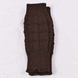 Crochet Knitted Plain Wrist Warmers