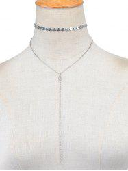 Vintage Sequins Layered Necklace -