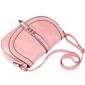 Braid Кожезаменитель Crossbody сумка -