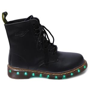 Light Up Flashing Ankle Boots -
