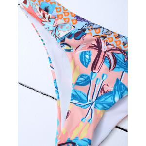 Ensemble Bikini à filet imprimé -