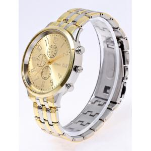 Stainless Steel Business Quartz Watch -