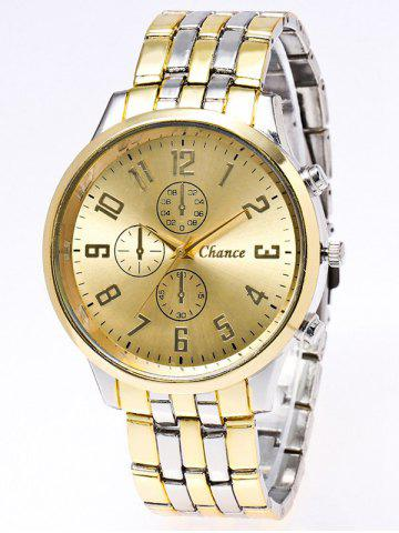 Sale Stainless Steel Business Quartz Watch