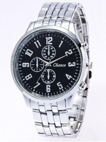 Hot Stainless Steel Business Quartz Watch