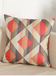 Geometry Pattern Linen Throw Home Decor Pillowcase -
