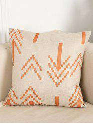 Home Decor Cushion Cover Linen Pillow Case - LIGHT BEIGE