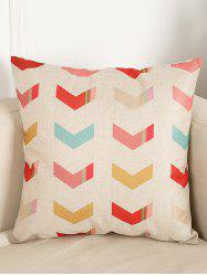 Arrows Pattern Sofa Bed Throw Linen Pillow Case