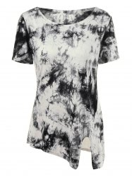 Tie-Dyed Plus Size T-Shirt