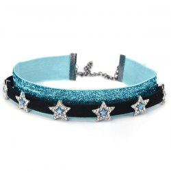 Glitter Layered Choker Necklaces