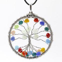 Tree of Life Beaded Necklace