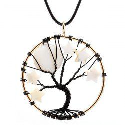 Tree of Life Star Necklace