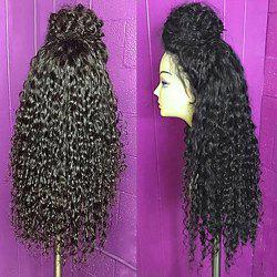 Fluffy Curly Synthetic Long Lace Front Wig
