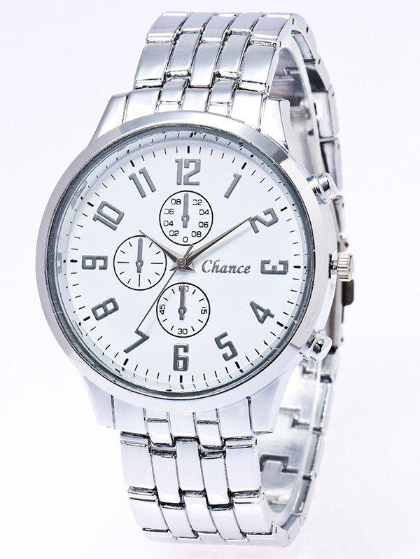 Affordable Stainless Steel Business Quartz Watch