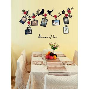 Photo Frame Removable Home Decals Wall Stickers -