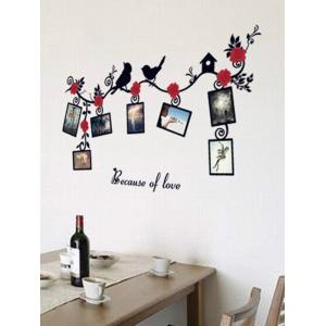 Photo Frame Removable Home Decals Wall Stickers - COLORMIX