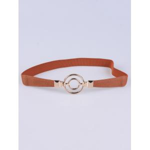 Round Hollowed Skinny Belt