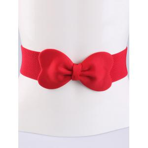 Stretch Bow Waist Belt