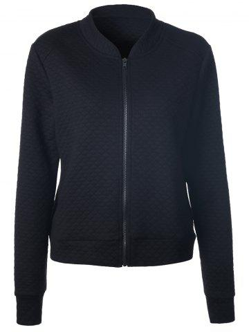 Outfit Full Zip Textured Jacket With Pocket