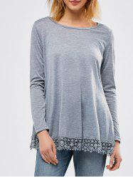 Long Sleeve Laciness Tee