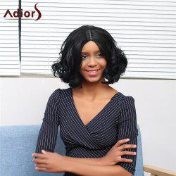 Adiors Short Centre Parting Wavy Fluffy Synthetic Wig