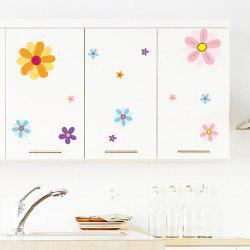 DIY Floral Removable Window Showcase Vinyl Wall Stickers