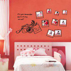Photo Frame Decorative Personalised Vinyl Wall Stickers -