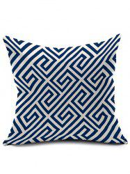 Geometry Linen Cushion Cover Throw Pillowcase - COLORMIX