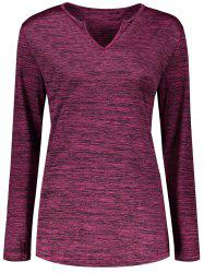 Marled Long Sleeve T-Shirt